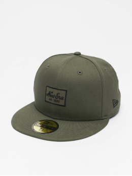 New Era Fitted Cap Essential 59Fifty olijfgroen