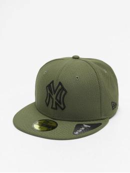 New Era Fitted Cap MLB NY Yankees Diamond Era Essential 59Fifty olijfgroen