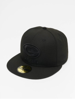 New Era Fitted Cap NFL Green Bay Packers 59Fifty schwarz