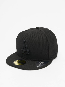 New Era Fitted Cap MLB LA Dodgers Diamond Era 59Fifty schwarz