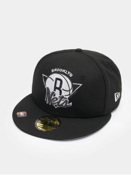 New Era Fitted Cap NBA Brooklyn Nets NBA21 Tip Off schwarz
