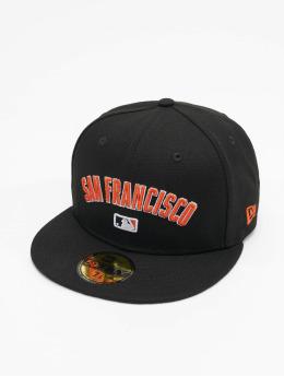 New Era Fitted Cap MLB San Francisco Giants Team 59Fifty schwarz