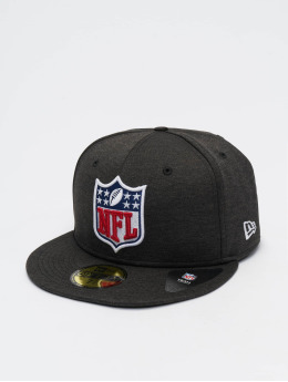New Era Fitted Cap Shadow Tech NFL Generic Logo 59Fifty zwart