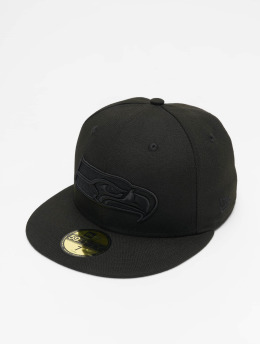 New Era Fitted Cap NFL Seattle Seahawks 59Fifty zwart