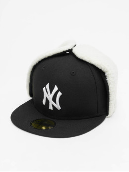 New Era Fitted Cap MLB NY Yankees League Essential Dogear  zwart