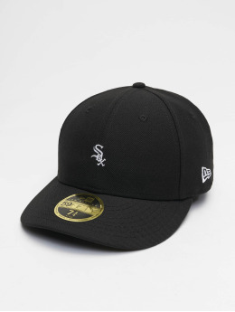 New Era Fitted Cap MLB Chicago White Sox Mini Logo 59Fifty zwart