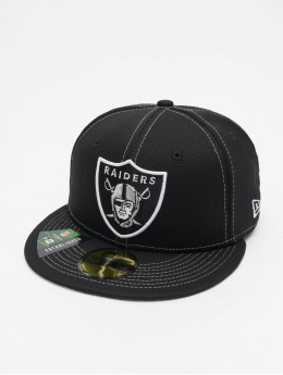 New Era Fitted Cap 59Fifty Onfield 19 SL RD Oakland Raiders zwart