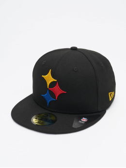 New Era Fitted Cap NFL Pittsburgh Steelers Team Tonal 59Fifty zwart
