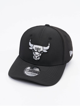 New Era Flex fit keps NBA Chicago Bulls Mesh Back 39thirty svart
