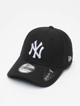 New Era Flexfitted Cap MLB NY Yankees Diamond Era 39thirty čern
