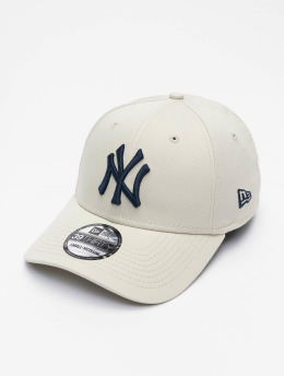 New Era Flexfitted Cap MLB New York Yankees League Essential 39Thirty  beige