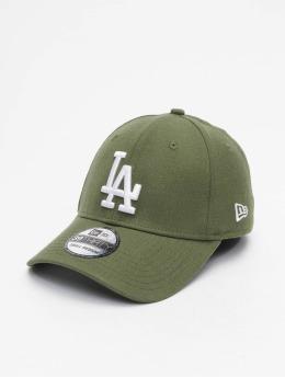 New Era Flexfitted Cap MLB LA Dodgers Essential 39Thirty bianco