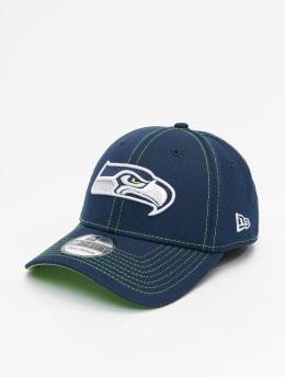 New Era Flexfitted Cap NFL Seattle Seahawks Onfield Road 39Thirty blauw