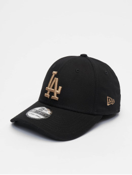 New Era Flexfitted Cap MLB Los Angeles Dodgers League Essential 39thirty czarny