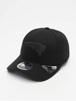 New Era Flexfitted Cap Tonal Black 9Fifty New England Patriots czarny