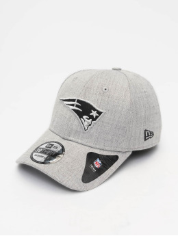 New Era Flexfitted Cap NFL Heather Essential New England Patriots 39 Thirty grå