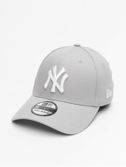 New Era Flexfitted Cap League Basic NY Yankees 39Thirty grå
