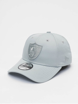 New Era Flexfitted Cap NFL Oakland Raiders Team Tonal 39thirty grau
