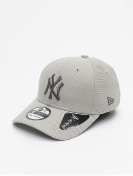 New Era Flexfitted Cap MLB NY Yankees Team 39thirty  grau