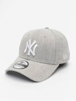 New Era Flexfitted Cap MLB NY Yankees Heather 39Thirty grau