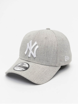 New Era Flexfitted Cap MLB NY Yankees Heather 39Thirty gray