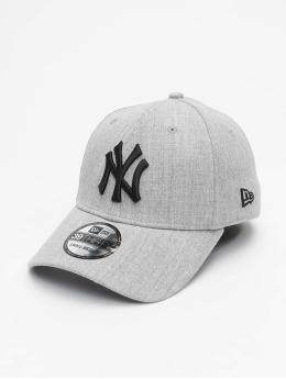 New Era Flexfitted Cap MLB NY Yankees Essential 39Thirty grey