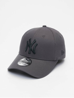 New Era Flexfitted Cap Mlb Properties New York Yankees League Essential 39thirty grey