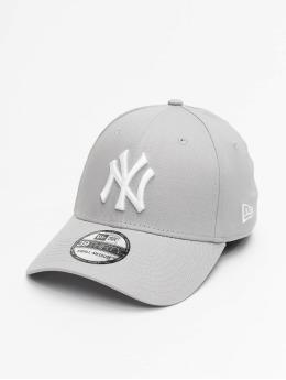 New Era Flexfitted Cap League Basic NY Yankees 39Thirty grigio