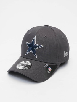 New Era Flexfitted Cap NFL Dallas Cowboys Team 39Thirty gris