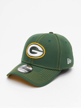 New Era Flexfitted Cap NFL Green Bay Packers Onfield Road 39Thirty grün
