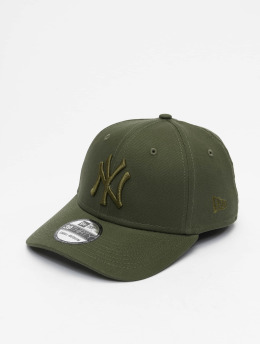 New Era Flexfitted Cap MLB NY Yankees League Essential 39Thirty  olijfgroen