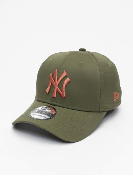 New Era Flexfitted Cap MLB NY Yankees Seasonal Colour 39Thirty  olijfgroen