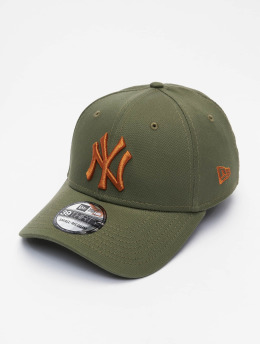 New Era Flexfitted Cap MLB New York Yankees League Essential 39Thirty  olive