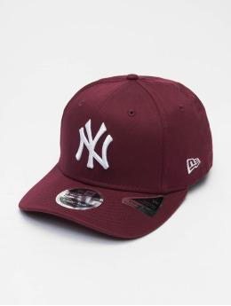 New Era Flexfitted Cap Colour Ess New York Yankees 9Fifty purple