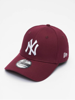 New Era Flexfitted Cap MLB NY Yankees League Eshortsleeveentl 39thirty rosso
