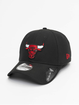 New Era Flexfitted Cap NBA Chicago Bulls Diamond Era 39thirty schwarz