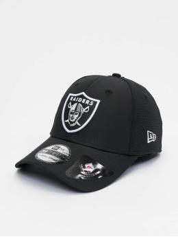 New Era Flexfitted Cap NFL Oakland Raiders Featherweight 39thirty schwarz