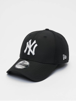 New Era Flexfitted Cap MLB New York Yankees Featherweight 39thirty schwarz