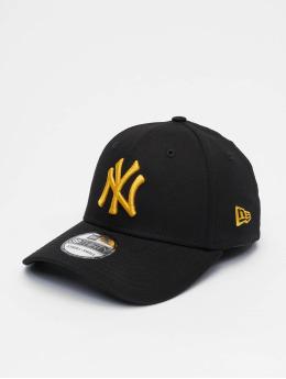 New Era Flexfitted Cap MLB New York Yankees League Essential 39thirty schwarz