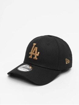 New Era Flexfitted Cap MLB LA Dodgers League Essential 39Thirty schwarz