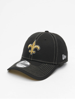 New Era Flexfitted Cap NFL New Orleans Saints Onfield Road 39Thirty schwarz