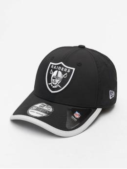 New Era Flexfitted Cap NFL Oakland Raiders Back Script 39Thirty schwarz