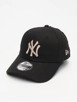 New Era Flexfitted Cap MLB NY Yankees League Essential schwarz