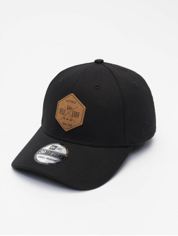 New Era Flexfitted Cap Colour Essential 39Thirty  schwarz