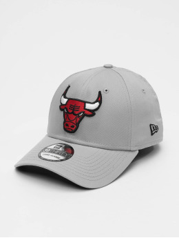New Era Flexfitted Cap NBA Team Chicago Bulls 39Thirty szary
