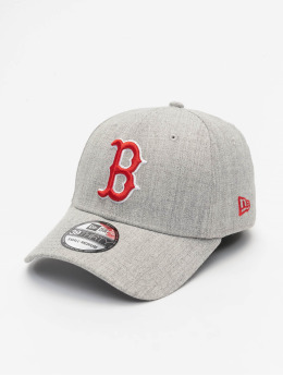 New Era Flexfitted Cap MLB Boston Red Sox Heather 39Thirty szary