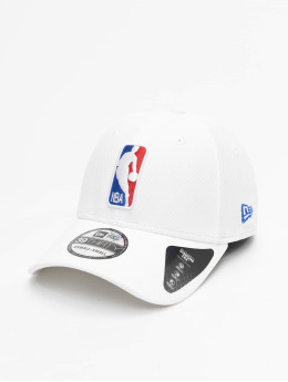 New Era Flexfitted Cap NBA Logo Diamond Era 39thirty weiß
