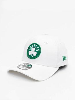New Era Flexfitted Cap NBA Boston Celtics 39Thirty weiß