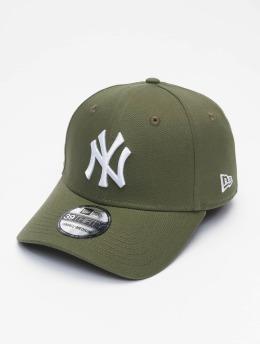 New Era Flexfitted Cap MLB NY Yankees League Eshortsleeveentl 39thirty zielony