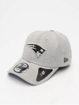 New Era Flexfitted-lippikset NFL Heather Essential New England Patriots 39 Thirty harmaa